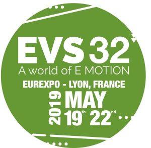 EVS32, 32 Symposium du véhicule électrique, Mai, Lyon
