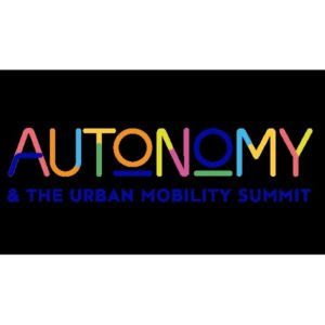 Salon Autonomy & The Urban Mobility Summit, Octobre, Paris