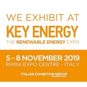 Key Energy from 5 to 8 November, in Rimini-Italy