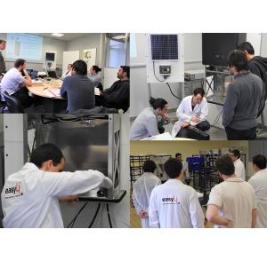 Un gruppo di installatori ha incontrato lo staff di easyLi per una sessione di qualifica e di messa in esercizio del sistema
