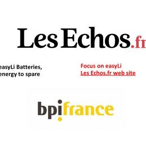 les echos web site
