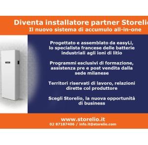 Diventa installatore partner Storelio