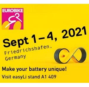 Eurobike, Friedrichshafen, 1 au 4 septembre 2021